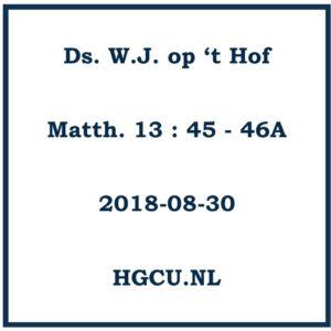 preek HGCU.nl