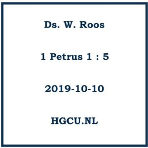 Preken cd - ds. W. Roos