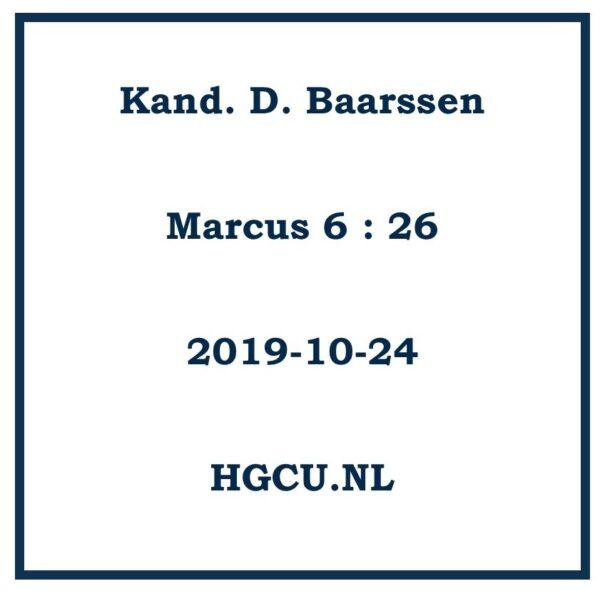 Preken CD D. Baarssen