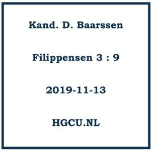 Prerken Cd Kand. D. Baarssen