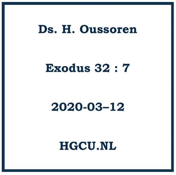 Preken-Cd Ds. H. Oussoren