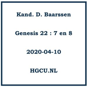 Preken Cd kand. D. Baarssen