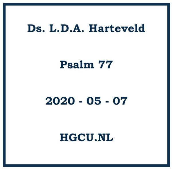 Preken Cd van ds. L.D.A. Harteveld
