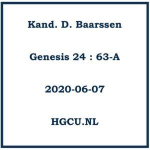 Preek van Kand. D. Baarssen