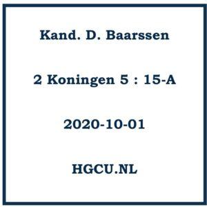 Preek Cd Kand D. baarssen