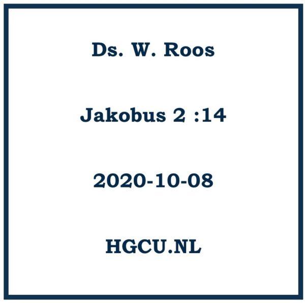 Preek Cd Fds W. Roos