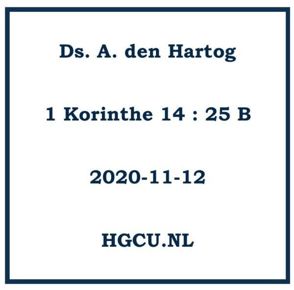 Preken Cd van Ds. A. den Hartog