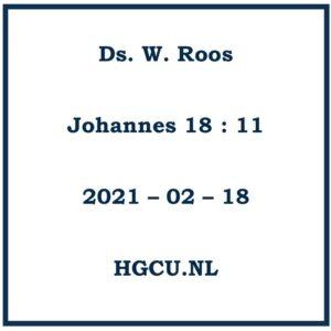 Preken Cd van Ds. W. Roos